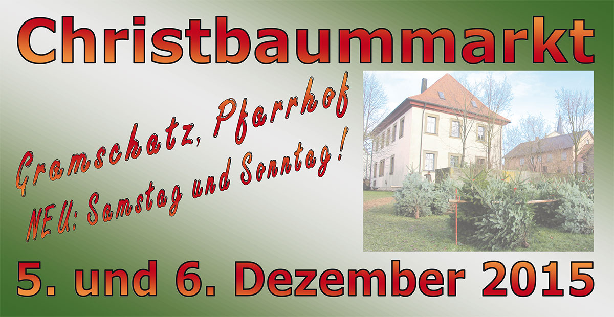 Christbaummarkt 2015