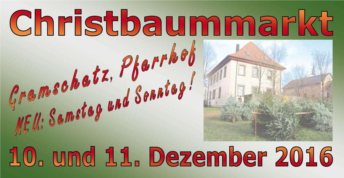 Christbaummarkt 2016